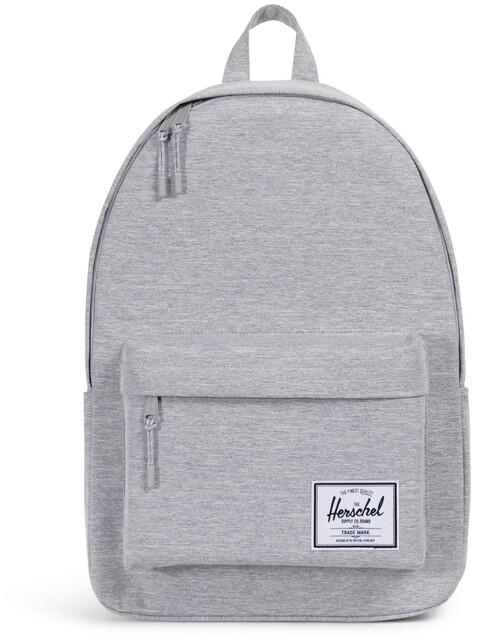 Herschel Classic X-Large Backpack Unisex, light grey crosshatch
